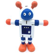 madera 2018 niños nuevos juguetes educativos robot