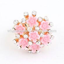 Los anillos de compromiso más baratos del anillo del diamante de la turquesa del anillo del montón