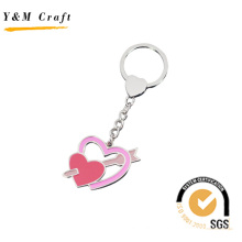Sweet Style Heart Shape keychain with Candy Color (Y03308)