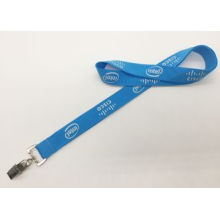 Logo Customized Polyester Silk Screen Printing Lanyard