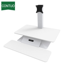 Automatic Standing Adjustable Computer Desk Riser Monitor Converter