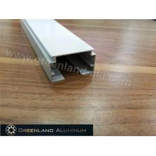 Trilho de cabeça de alumínio para toldo de janela vertical