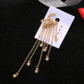 Nieuwe Trendy Small Star Tassel Drop Earrings
