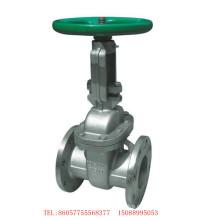 JIS 10k válvula de portão de aço inoxidável Scs13 válvula de portão