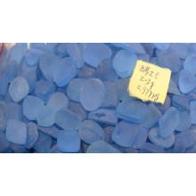 Швейцарский Голубой топаз преформированные грубый драгоценный камень оптом