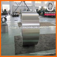 Bobines d'acier inoxydable 316L de qualité supérieure