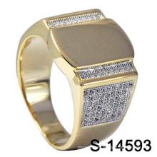 Anillo de plata esterlina 925 de la nueva joyería del diseño