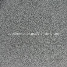 Diseño popular de PVC para el sofá en cuero del Reino Unido (QDL-53233)