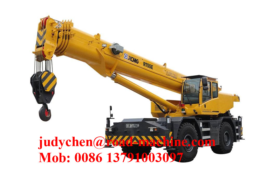 XCMG RT40 Semua Wheel Rough TerrainCrane