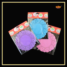Colored 12.5 Inches Customized Lace Paper Doilies