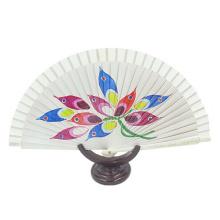 mão do ventilador, ventilador da mão da lembrança, ventilador personalizado chinês da mão