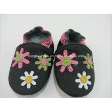 Motif animal: Chaussures bébé en cuir 2