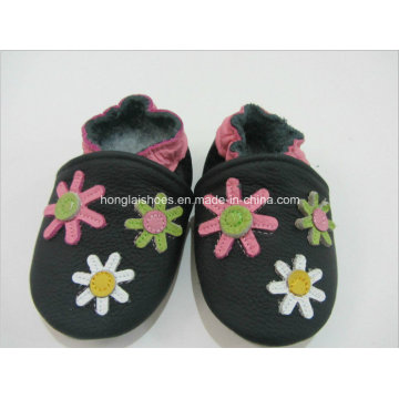 Animal Pattern: Leather Baby Shoes 2
