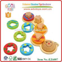 Hölzernes Caterpillar Spielzeug Pädagogisch