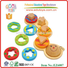 Wooden Caterpillar Toy Educational