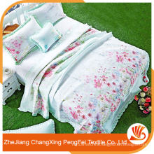 New designed factory price bed cover sheet for home textile