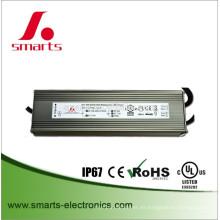 fuente de alimentación conducida impermeable dimmable 24v 180w