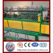 Diamond mesh machine/ 2mm 25*25mm twisted chain link fence machine,chain link fence making machine