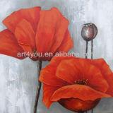 pop flower painting canvas art(24626)
