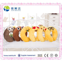 2016 New Style Toy Plush Emoji Cartoon Neck Pillow