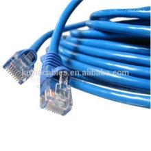 Venta caliente Cat5 Cat5E Cat 5 RJ45 UTP Cable de conexión de red Ethernet