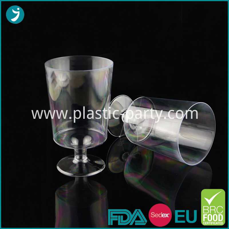 Clear Plastic Goblet