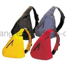 Saco de triângulo venda quente, mochila de ombro único