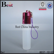 Mini botella de perfume de la cadena dominante 5ml, uso para la botella de perfume de la cadena dominante del coche