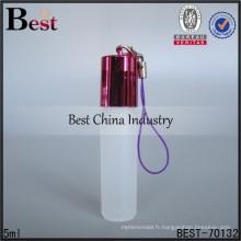 Bouteille de parfum de mini chaîne principale de 5ml, utilisation pour la bouteille de parfum de chaîne principale de voiture