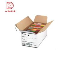 Boîte de papier blanc d'usine décorative de nouvelle qualité de conception de bonne qualité