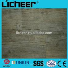 Valinge clique em pisos de vinil OAK pranchas com fibra de vidro / telhas de vinil / revestimento uv