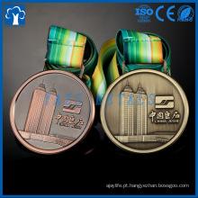 Medalhas de prata douradas bronze douradas