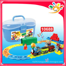 2014 HOT SELLING PRODUCTS! 10688 TRACK CAR electric train model train blocks toy train
