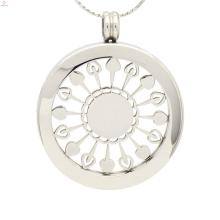 Мода держатель серебра кукурузы подвеска,простая серебряная монета держатель ювелирных изделий
