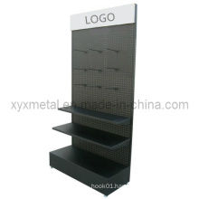 Peg Board Hook Exhibition Metal Pegboard Display Stand