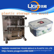zhejiang taizhou huangyan battery container mould and 2013 New household plastic injection tool box mouldyougo mould
