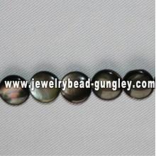 Perles de coquillage de mer forme ronde