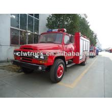 Dongfeng 4x2 fuego fihting camión, Dongfeng camión de lucha contra incendios, camión de bomberos, tanque de agua de espuma de lucha contra incendios de camiones, camiones de bomberos