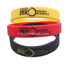 Custom Made Promotional Silikon Hadiah Wristband Cool