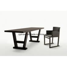 Table à manger en bois Style européen des meubles en bois (E-27)