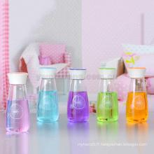 Gros verre borosilicate haut créative Vase style cadeau mignon bouteille en verre