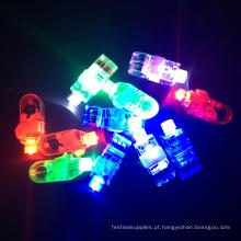 Luz brilhante do dedo do diodo emissor de luz do delívo do laser do partido do ano novo