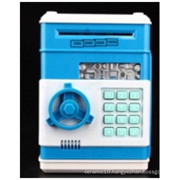 Promotional Mini Password Safe Piggy Bank, Painted Large ATM Electronic Momeny Box