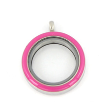 Elegante Varios Colores 25mm 30mm Charm Locket for Pendant