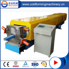 Square Shaped Pipe Metal Gutter Cold Forming Machine