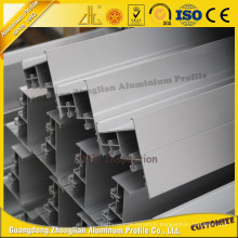 Fenêtres coulissantes d'anodisation et profil en aluminium d'extrusion de portes
