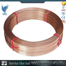 Cheap price 202 stainless steel copper coated wire factory sale