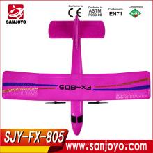Comercio al por mayor FX 805 RC EPP espuma 2.4GHz 2CH Avión altísimo RTF Glider rc juguetes