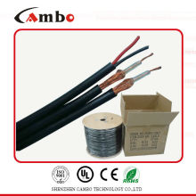 coaxial cable RG6 siamese 2 core power