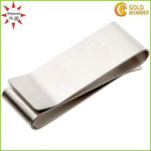 Personalisierte Ring Metall Geld Clip mit Silber